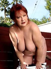 Old chubby redheads xxx